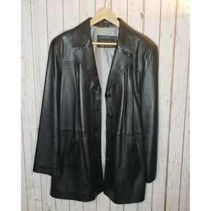 Gallery Women's 80's Leather Jacket Size XL